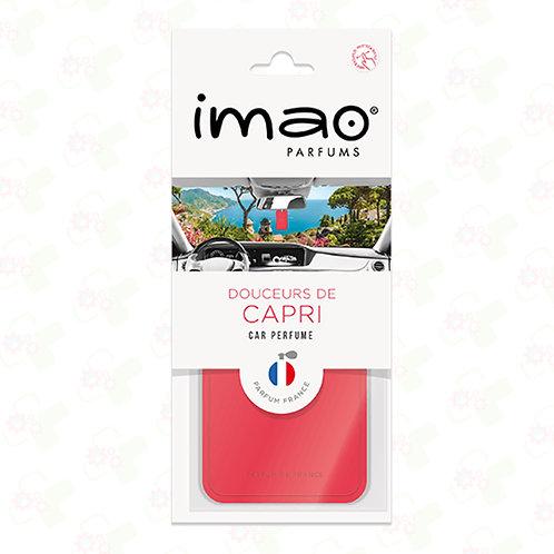 Carte parfumée Auto Douceurs de Capri