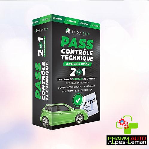 Pass Controle Technique Essence - Antipollution