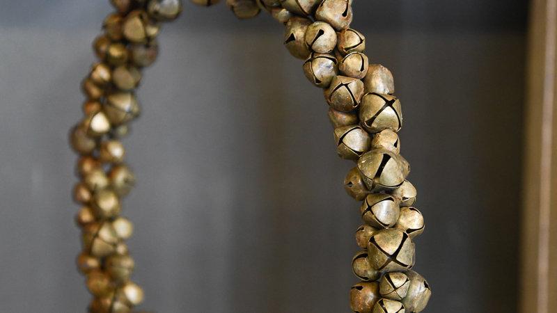 Bronze Schellen Kranz