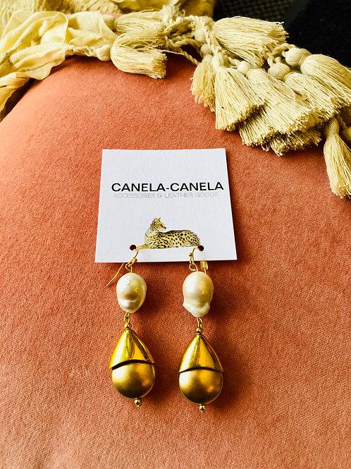 """""""La perla""""earrings"""