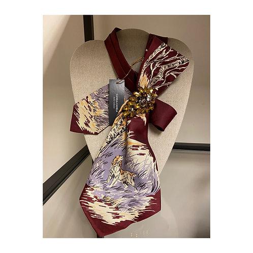 """""""Bosque"""" Silk Neck Tie"""