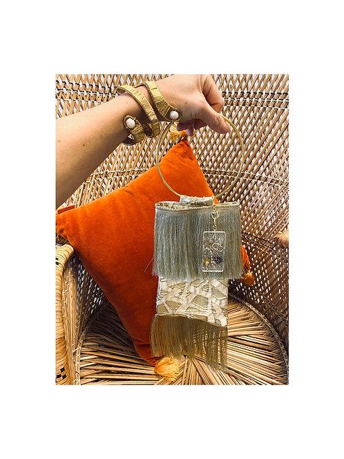Golden party bag
