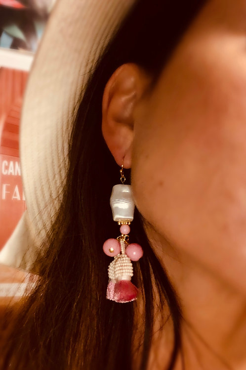 """Rosita"" tassel earrings"