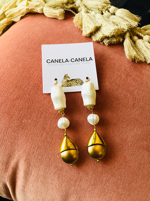 """Bombai"" earrings"