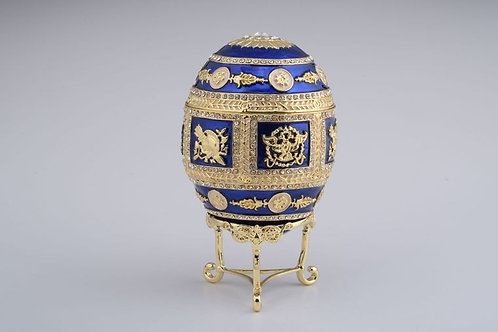 Keren Kopel Golden Blue Faberge Egg