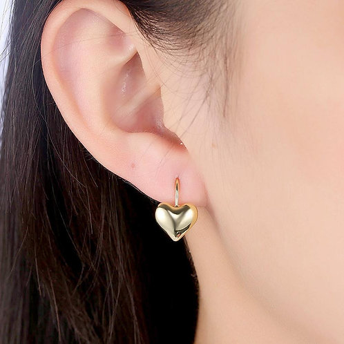 Leverback Earring in 18K Gold Plated