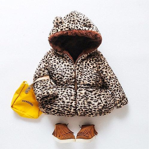 Toddler Kids Baby Girl Fleece Coat Cute Ear