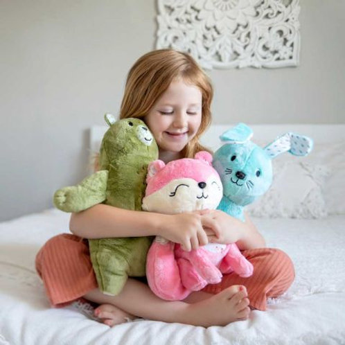 Aroma Plush Flora Fox™ Birch Bear™ Briar Bunny™ Set Of Three & Woodland Retreat