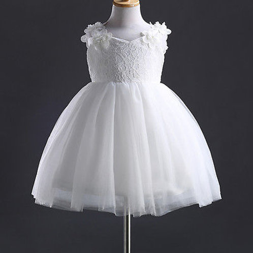 Baby Girl Pageant Wedding Dresses With Hat Infant