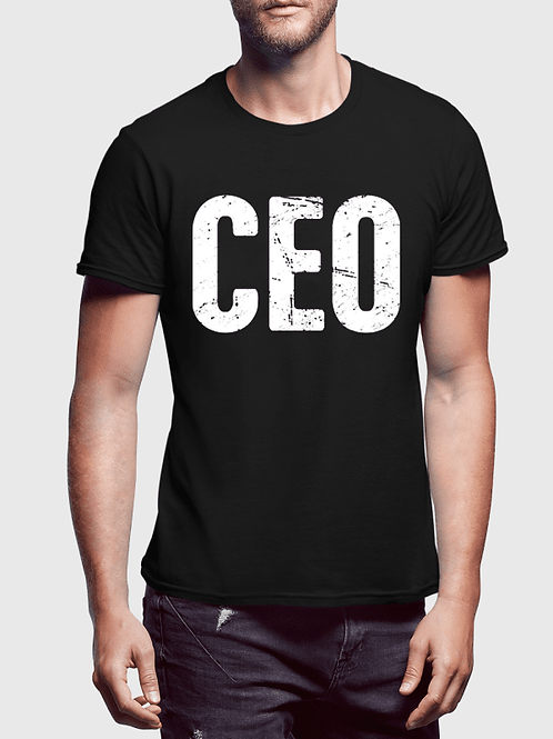 CEO Half Sleeves T-shirt