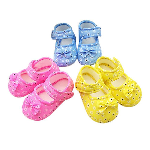 Newborn Baby Boy Girl Baby Shoes Kids Baby Bowknot