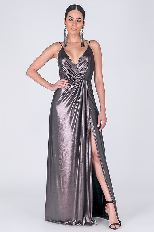 LONG DRESS FOR PARTY WITH SLIT