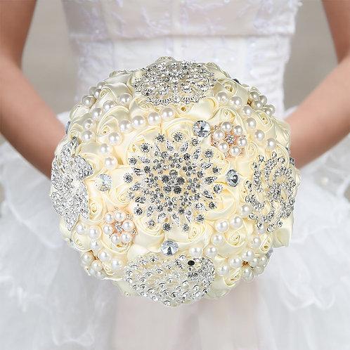 18cm Handmade Crystal Bridal Wedding Flower
