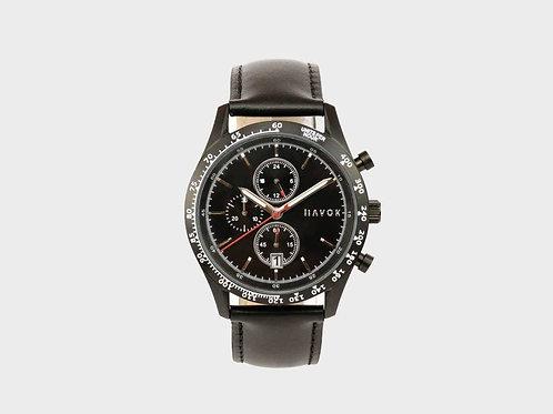 Elliott Havoc Diamond Black Racer Chronograph - 42mm