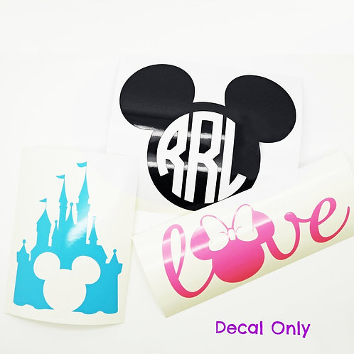 Character Inspired Decals | 11 Styles