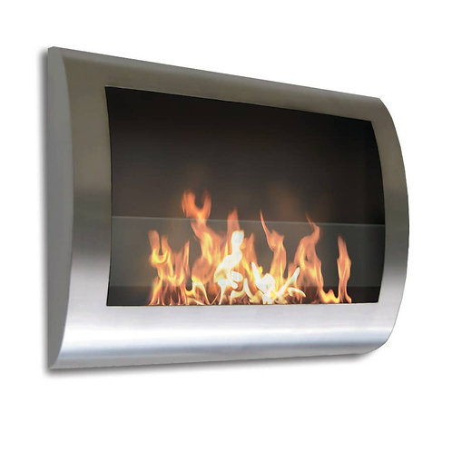 Anywhere Fireplace Indoor Wall Mount - Chelsea Model Steel