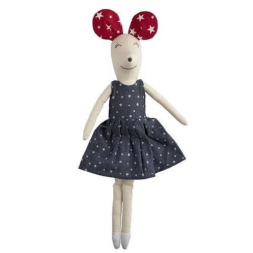 Maya Mouse Denim Doll