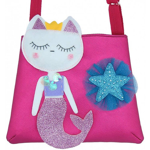 Kitty Mermaid Kids Purse