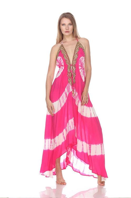 PD587 Pink Tie-Dye