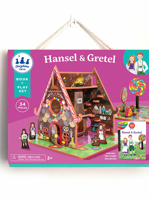 HANSEL AND GRETEL BOOK AND PLAYSET
