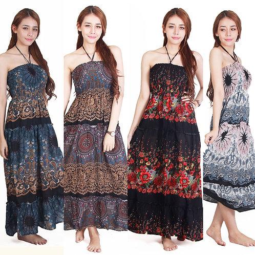 Boho Maxi Dress, Hippie Maxi Dress, Gypsy Dress