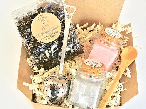 Lavender Earl Grey Tea & Sugar Gift Set, Lavender