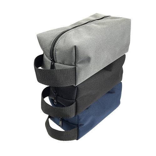 Men's/ Women's Vegan Toiletry Bag, Dopp Kit