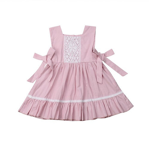 Cute Flower Kids Baby Girl Princess Dress