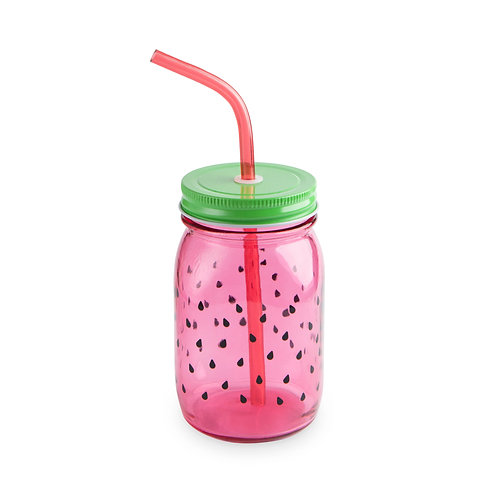 Watermelon Mason Jar Party Sets