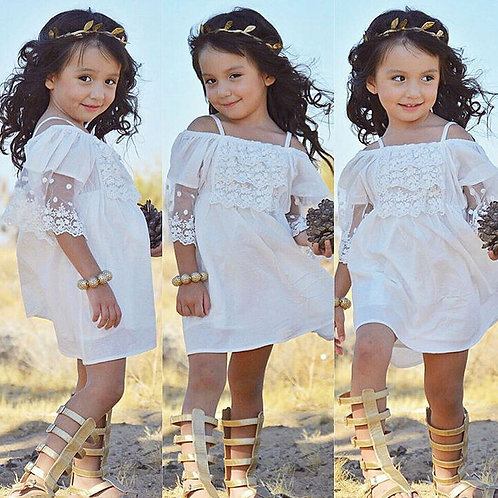 Lace Girl Clothing Princess Dress Kid Baby Party