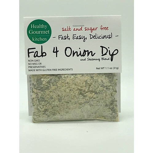 Fab 4 Onion Dip Mix Comes in Two/Three/Four Pack