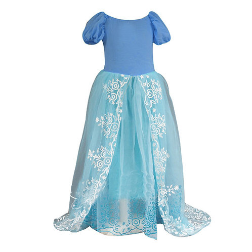 Summer Kids Dresses For Girls Wedding Dress