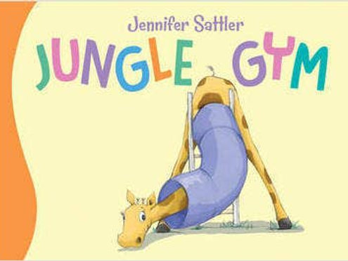 Jungle Gym Toddler Board Book