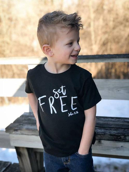 Set Free - Toddler Tee