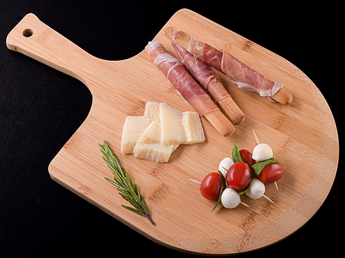 Gourmet Pizza Peel and Charcuterie Board