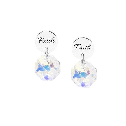 Swarovski Stud Earrings - Faith