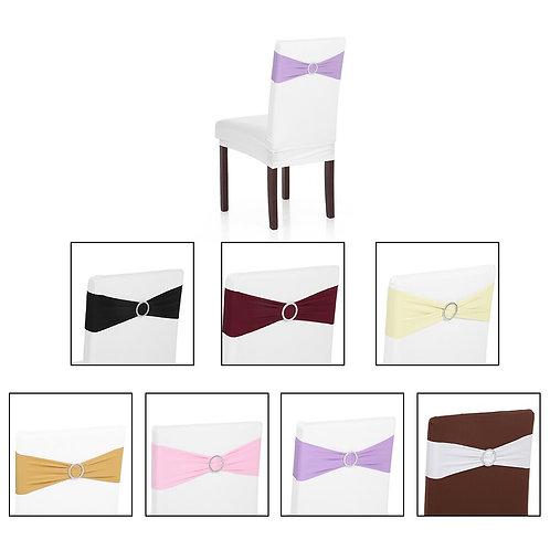 10PCS Wedding Decorations Elastic Spandex Chair