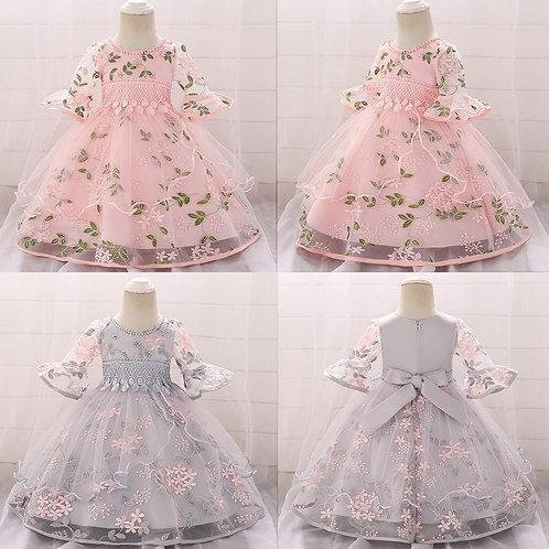 Small Fresh New Flower Petals Dresses Girls
