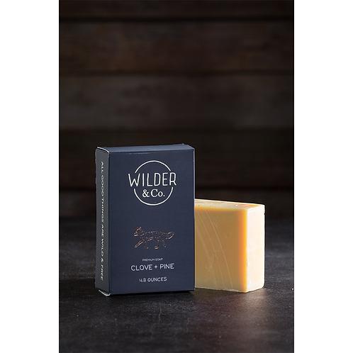 Men's Clove + Pine Premium Soap Bar