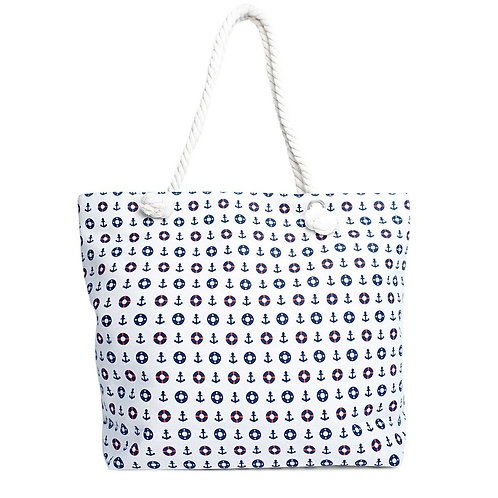 Nautical Summer Ladies Tote Bag