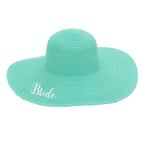 Mint Bride Floppy Hat