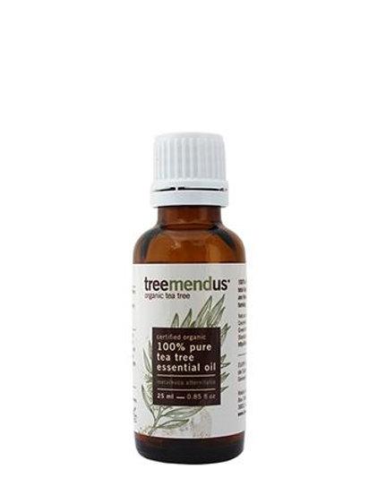Organic Tea Tree Essential Oil (Melaleuca Alternifolia) 25ml