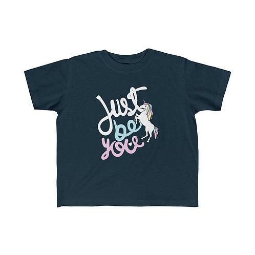 Just Be You Unicorn Girl Tee