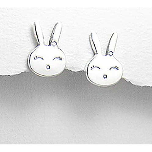 Earrings - Baby Bunny Sterling Silver