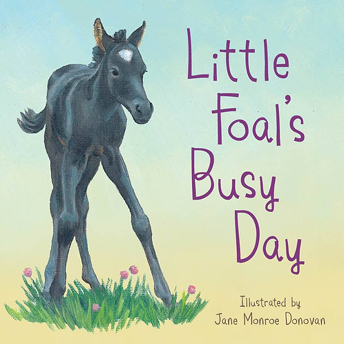 Little Foal's Busy Day board book
