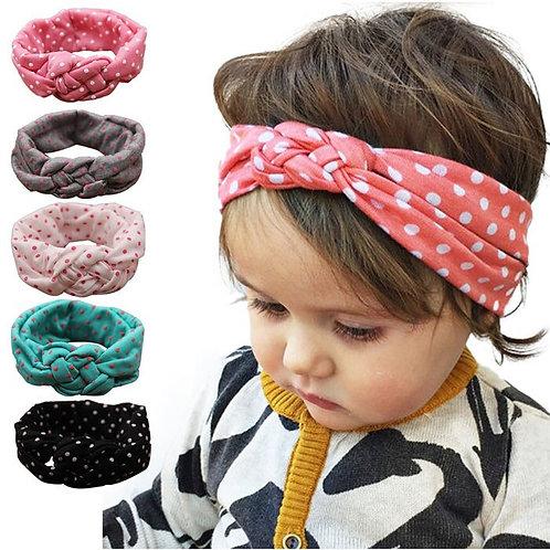 New Fashion Polka Dot Cross Children Weave