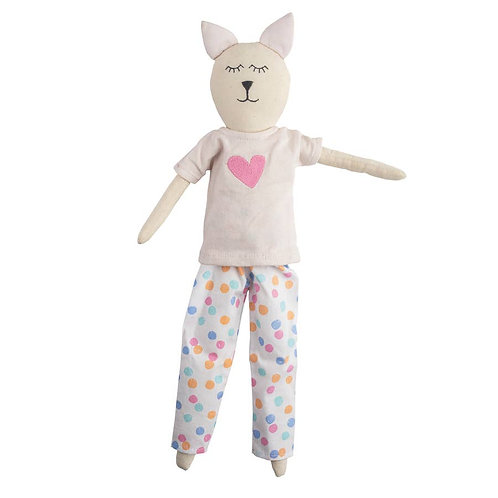 Cathy Cat Slumber Party Doll
