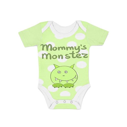 Infant Mommys Monster Onesie