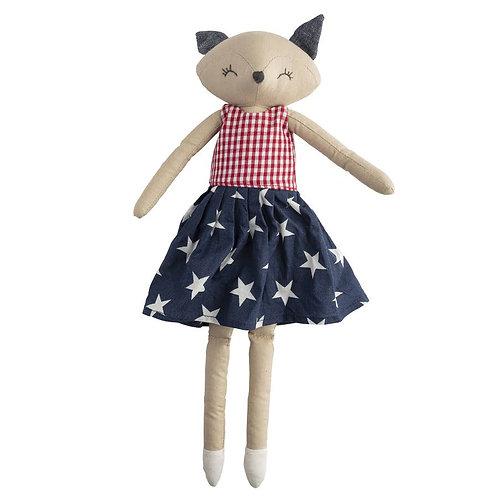 Fifi Fox Denim Doll