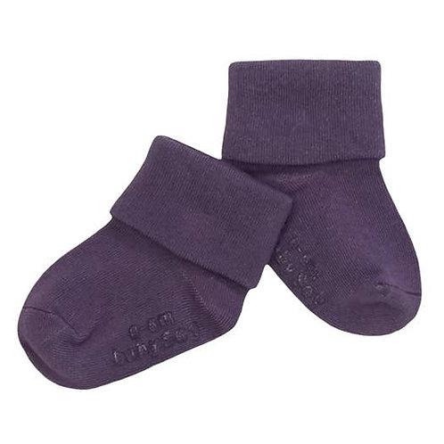 Babysoy Modern Socks - Wineberry